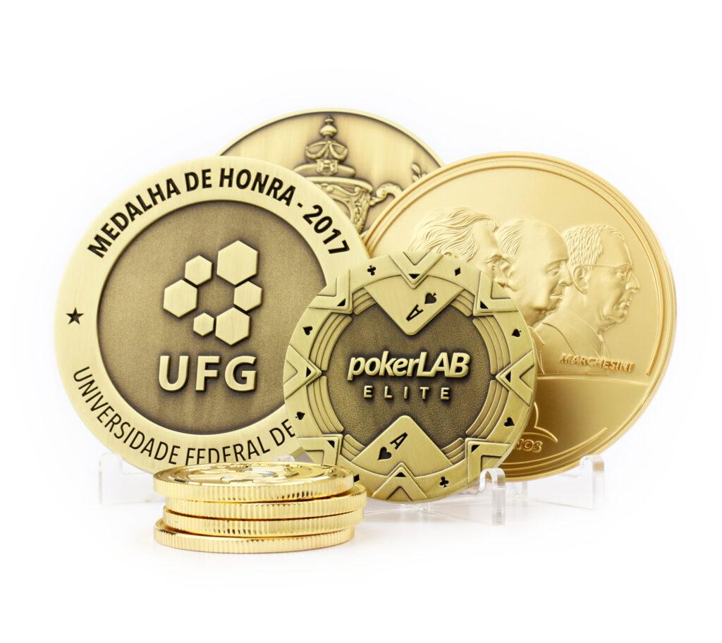 Medalhas personalizadas corporativas