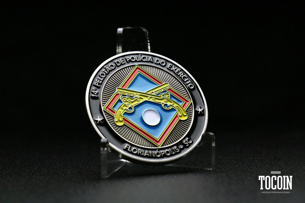 Tocoin Moedas Personalizadas - Polícia do Exército