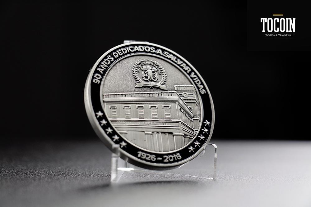 Medalha 90 anos CBMSC