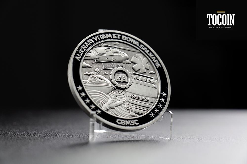Medalha do 90 anos CBMSC