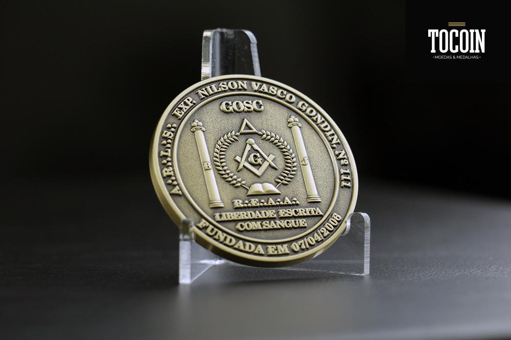 Medalha de loja maçônica