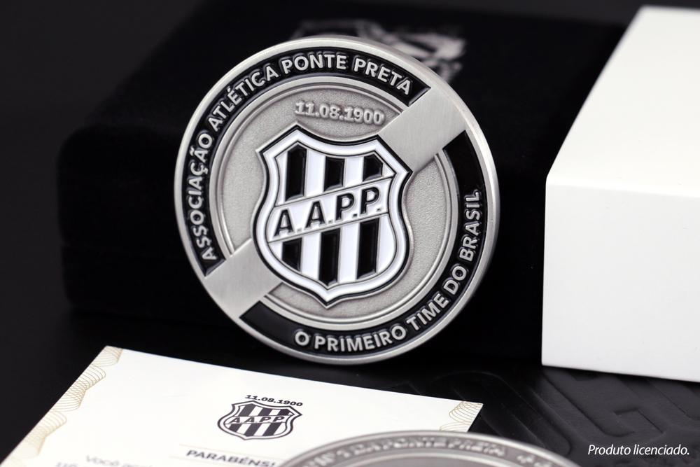 Medalha comemorativa dos 116 anos da Ponte Preta 77688d2f4b74c