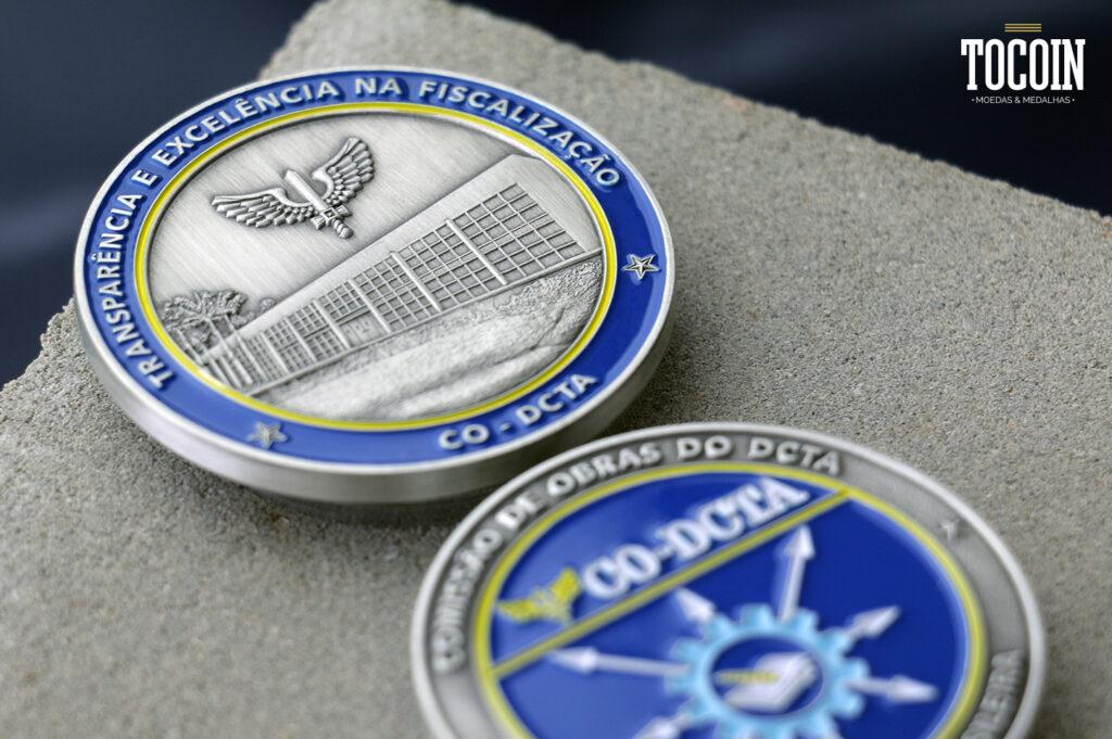 """medalha militar co-dcta força aérea brasileira"""