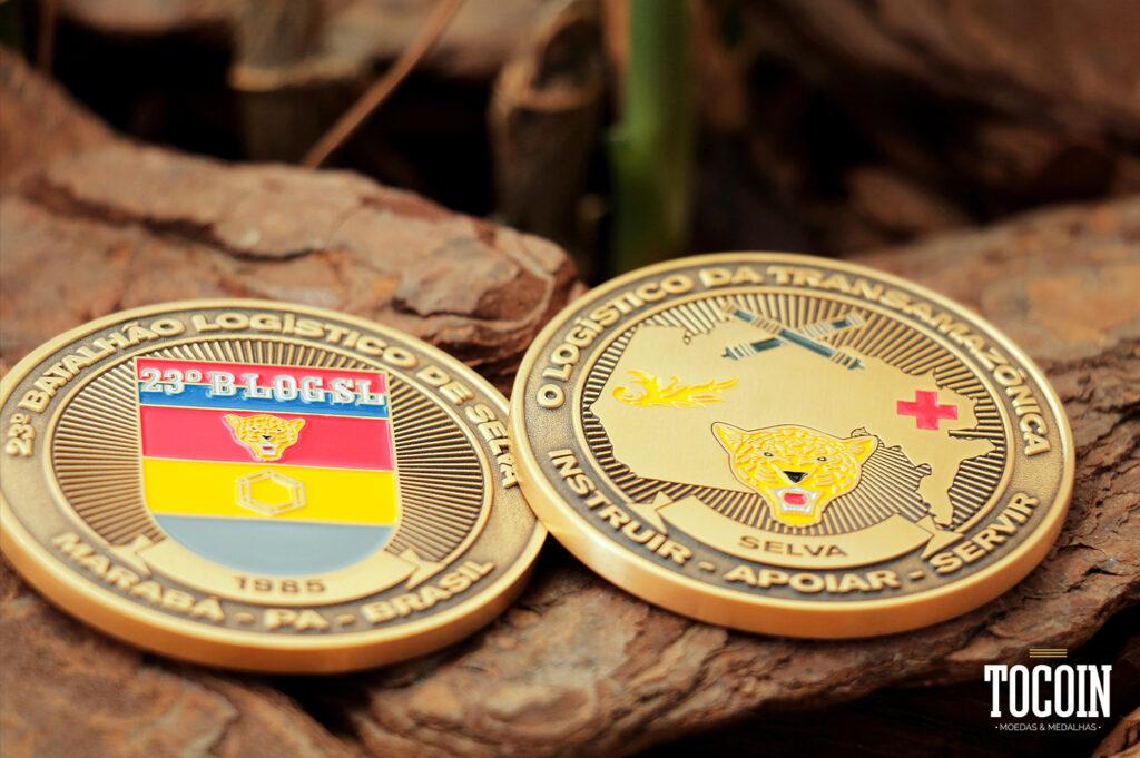 """""""medalha militar batalhao logistisco selva exercito brasileiro"""""""