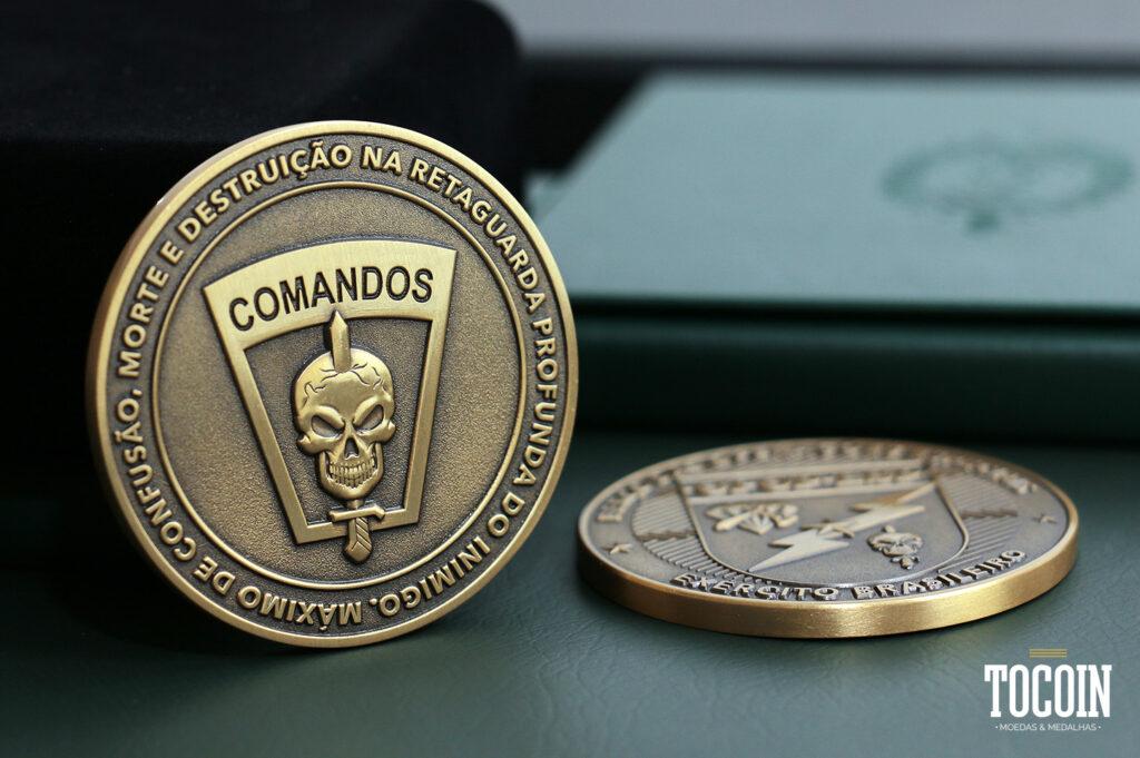 """""""medalha militar comandos exercito brasileiro"""""""