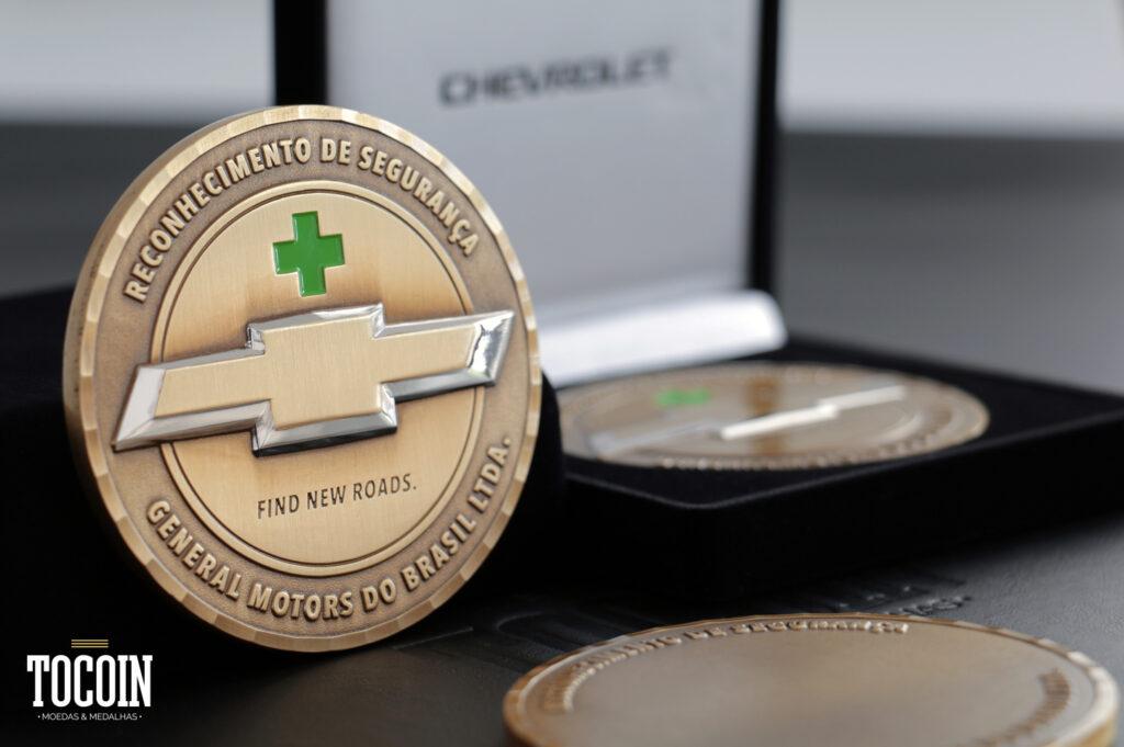 medalha personalizada para colaboradores da empresa