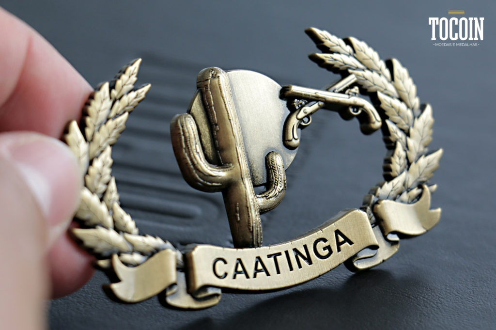 Brevês militares do COSAC Caatinga PMPB