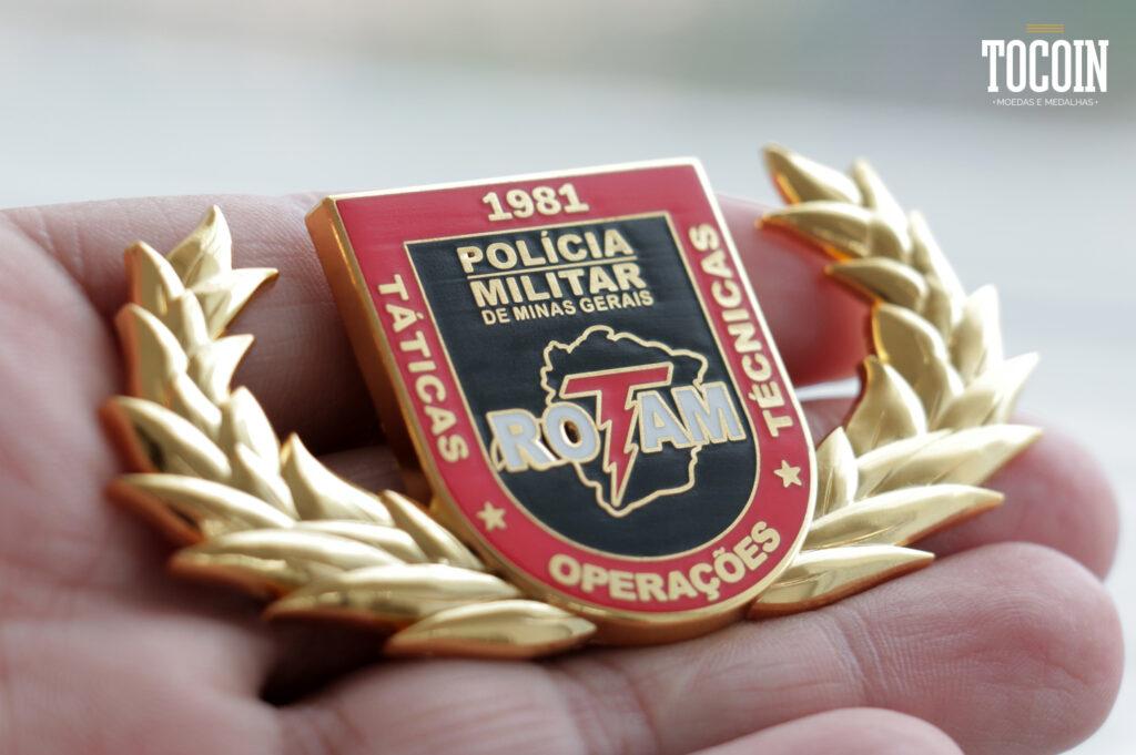 Brevês militares da Polícia Militar