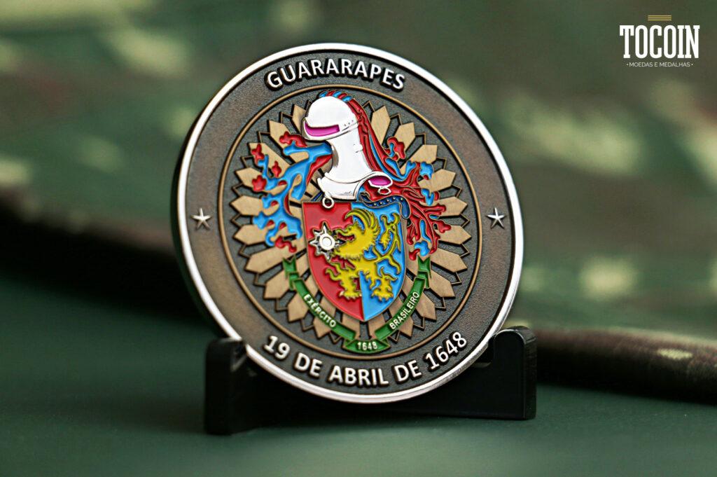 moeda do exército brasileiro