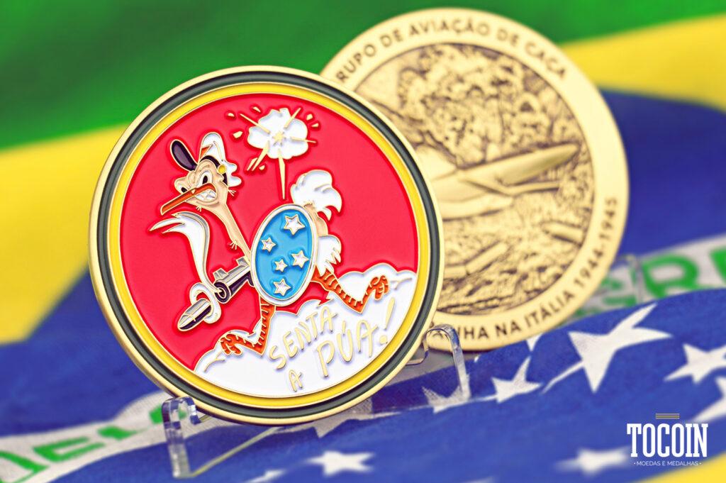 Challenge Coin 1º GAVCA