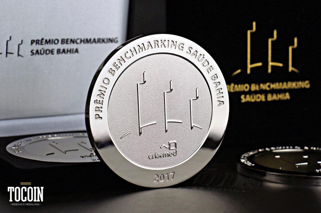 medalha premiar colaboradores destaque