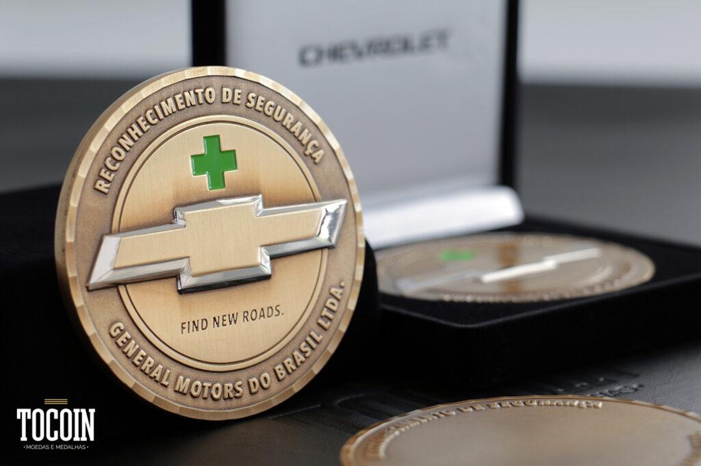 medalha reconhecer colaboradores