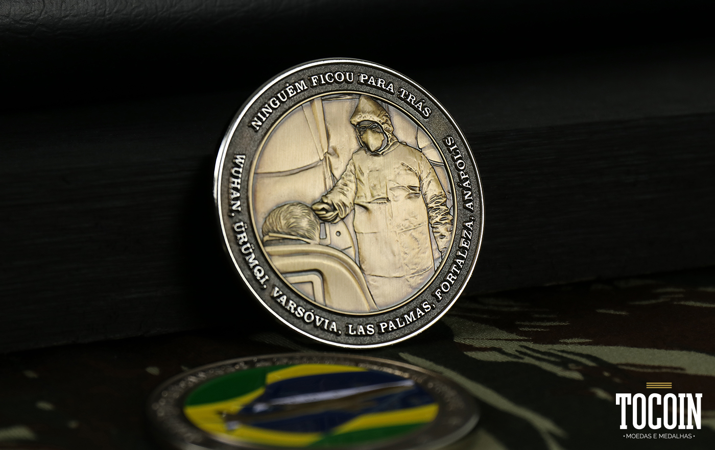 frente moeda